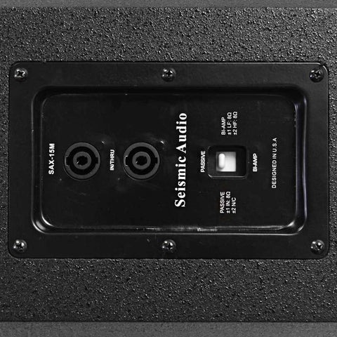 15 Inch Coaxial Floor Studio Stage Monitor Compact