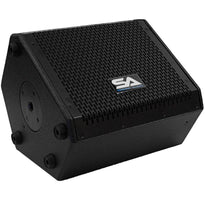 SAX-8M - Compact 8 Inch 2 Way Coaxial Floor / Stage Monitor with Titanium Horn