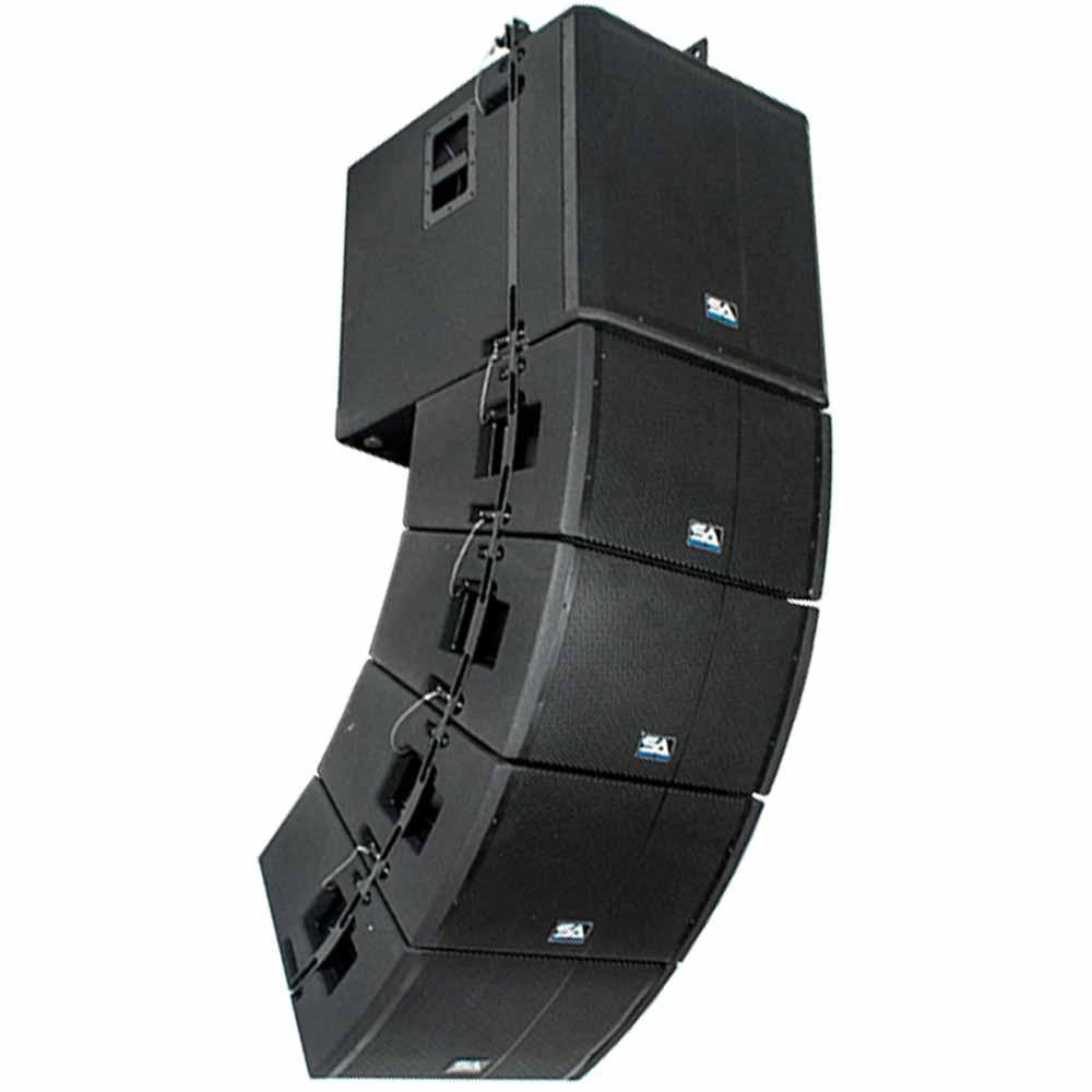 Powered Line Array System 18 Inch Subwoofer Four 12