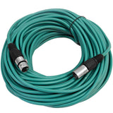 SAXLX-100 - Green 100 Foot XLR Microphone Cable