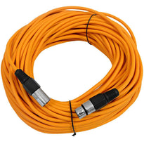 SAXLX-100 - Orange 100 Foot XLR Microphone Cable