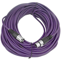 SAXLX-100 - Purple 100 Foot XLR Microphone Cable