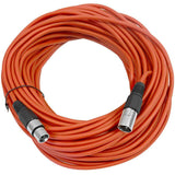 SAXLX-100 - Red 100 Foot XLR Microphone Cable