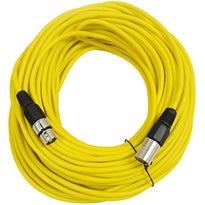 SAXLX-100 - Yellow 100 Foot XLR Microphone Cable