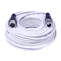 SAXLX-100 - White 100 Foot XLR Microphone Cable