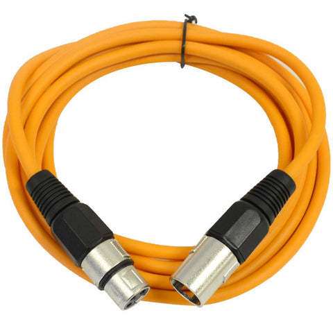 SAXLX-10 - Orange 10 Foot XLR Patch Cable