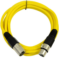 SAXLX-10 - Yellow 10 Foot XLR Patch Cable