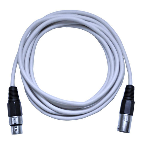 SAXLX-10 - White 10 Foot XLR Patch Cable