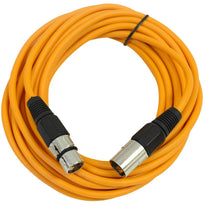 SAXLX-25 - Orange 25 Foot XLR Microphone Cable
