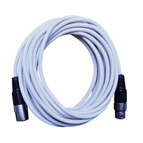 SAXLX-25 - White 25 Foot XLR Microphone Cable