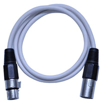 SAXLX-3 - White 3 Foot XLR Patch Cable