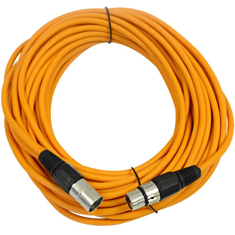 SAXLX-50 - Orange 50 Foot XLR Microphone Cable