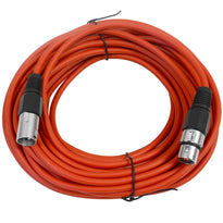 SAXLX-50 - Red 50 Foot XLR Microphone Cable