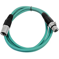 SAXLX-6 - Green 6 Foot XLR Patch Cable