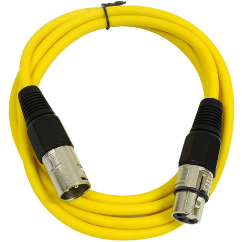 SAXLX-6 - Yellow 6 Foot XLR Patch Cable