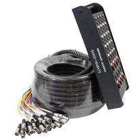 SAXQ-16x8x75 - 16 Channel 75' Snake Cable (XLR & TRS)