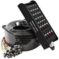 SAXQ-16x8x100 - 16 Channel 100' Snake Cable (XLR & TRS)