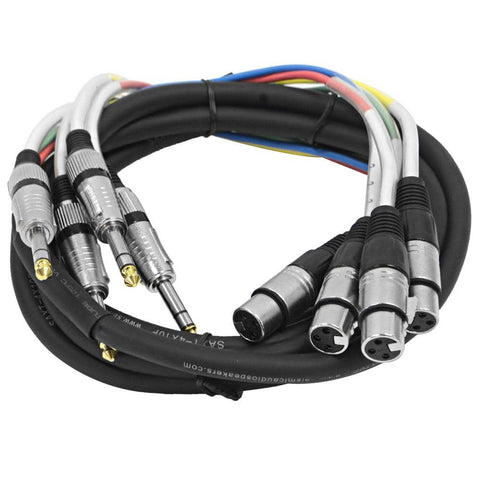 SAXT-4x10F - 4 Channel 10' TRS to XLR Female