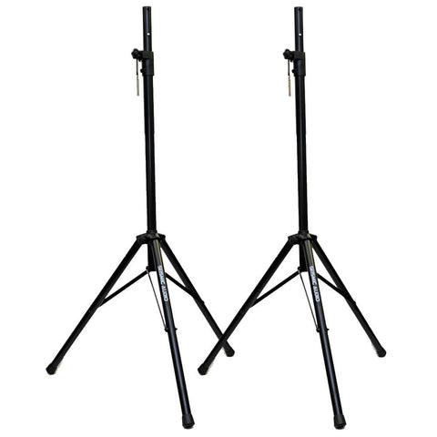 "Pair of Tripod Speaker Stand - Fits 1 1/2"" and 1 3/8"""