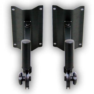 Pair of PA/DJ Wall Speaker Stand Mount