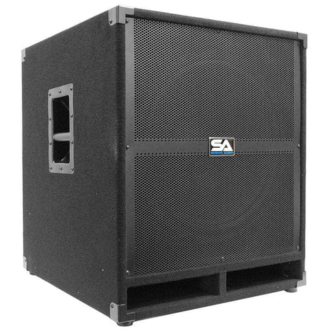 "Tremor 18 - 18"" Powered Pro Audio Subwoofer Cabinet"
