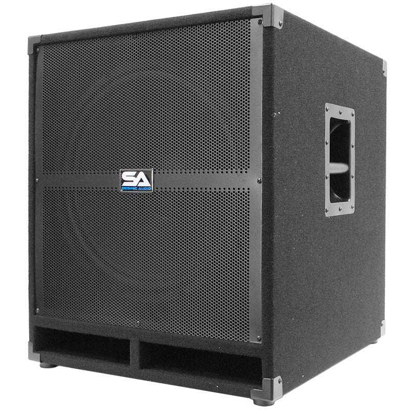 18 Inch Powered Subwoofer Bass Cabinet 500 Watts Rms