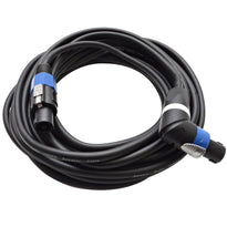 TW12SRT35 - Speakon to Right Angle Speakon Speaker Cable 35'
