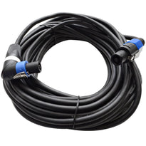 TW12SRT50 - Speakon to Right Angle Speakon Speaker Cable 50'