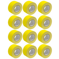 Gaffer's Tape - Yellow - 3 inch (12 Pack)