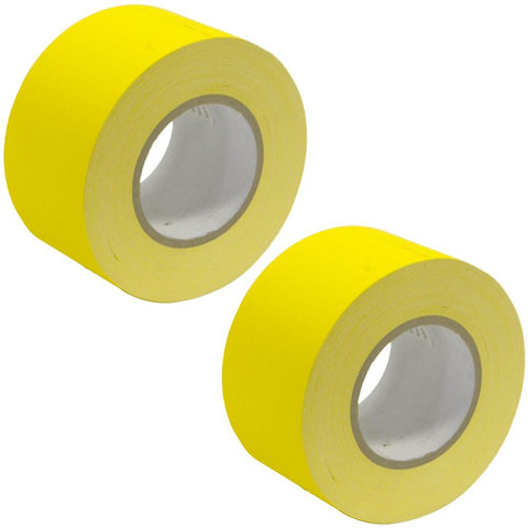 Gaffer's Tape - Yellow - 3 inch (2 Pack)