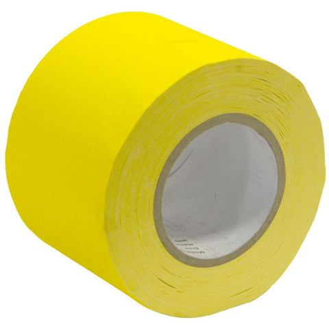 Gaffer's Tape - Yellow - 4 inch