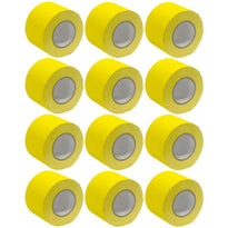 Gaffer's Tape - Yellow - 4 inch (12 Pack)