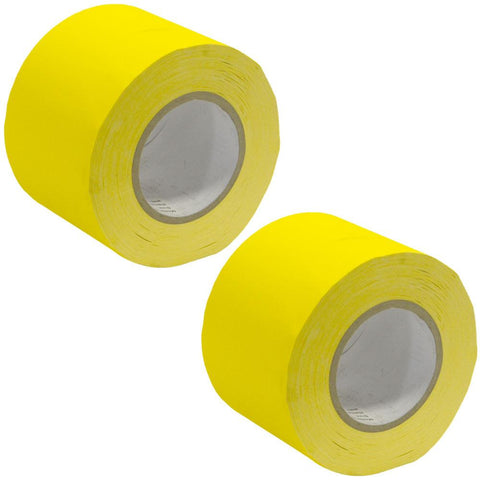 Gaffer's Tape - Yellow - 4 inch (2 Pack)