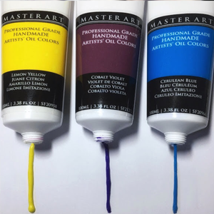 Master Art Supplies Oil Paint Tubes