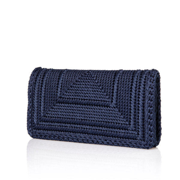 Penelope Clutch - Midnight Blue