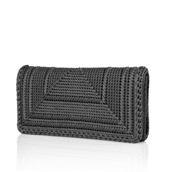 Penelope Clutch - All Grey