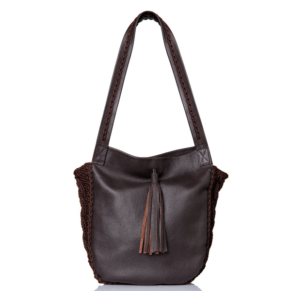 Anais Shoulder Bag - Brown