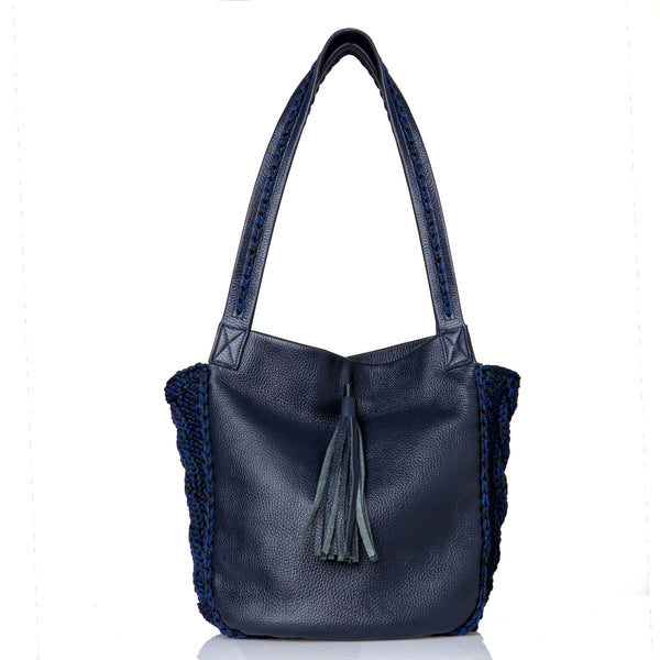 Anais Shoulder Bag -Dark Blue