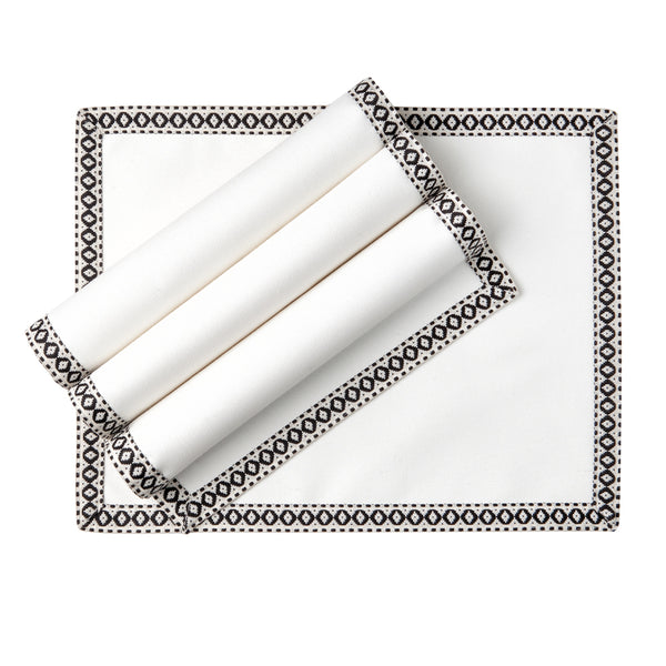 Rectangular placemat - White