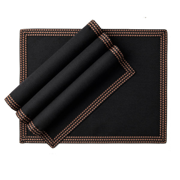 Rectangular placemat - Black