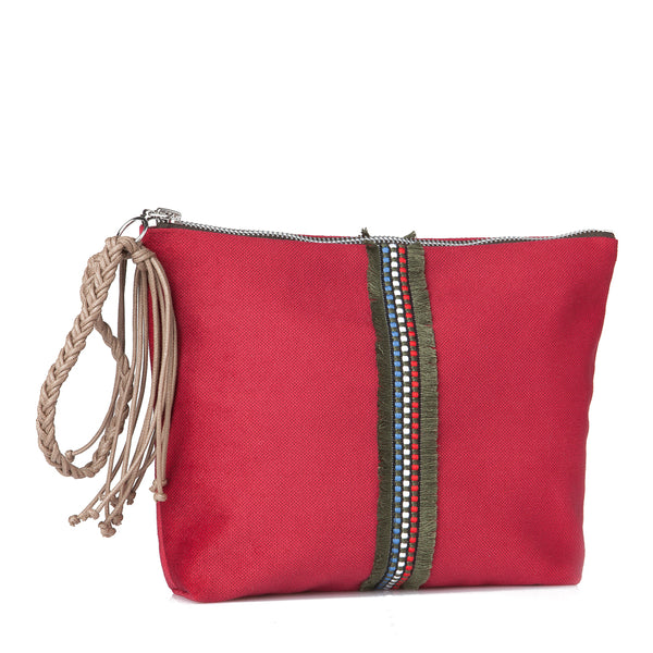 Small Lia pouch - Red