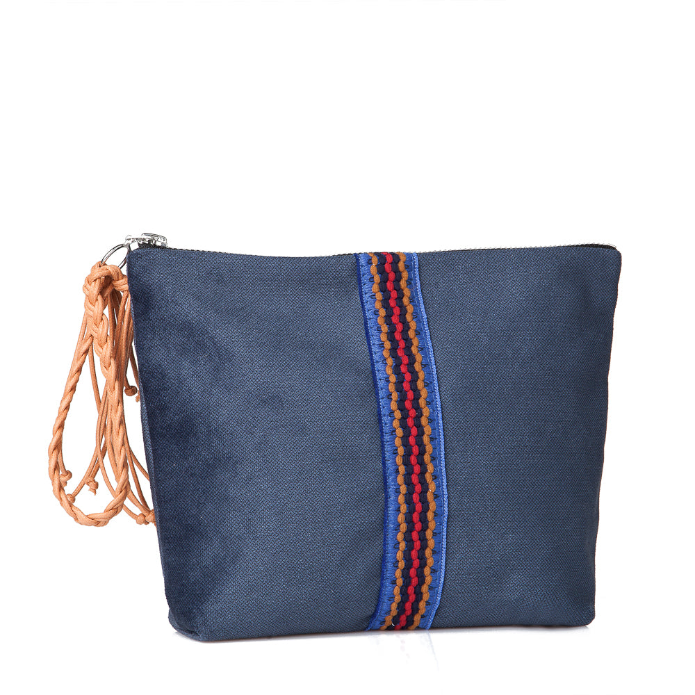 Small Lia pouch - Blue