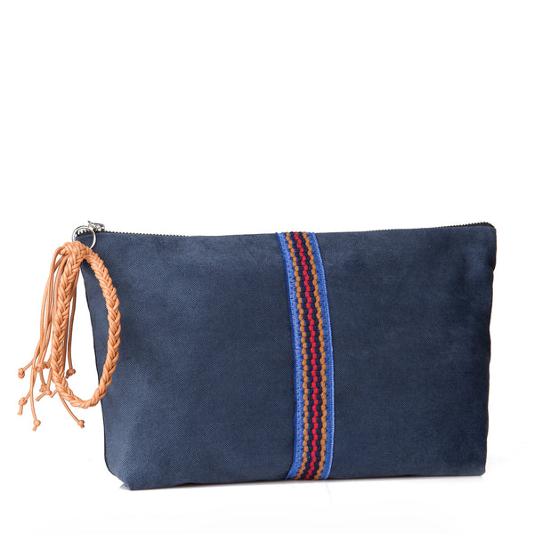 Large Lia pouch -Blue