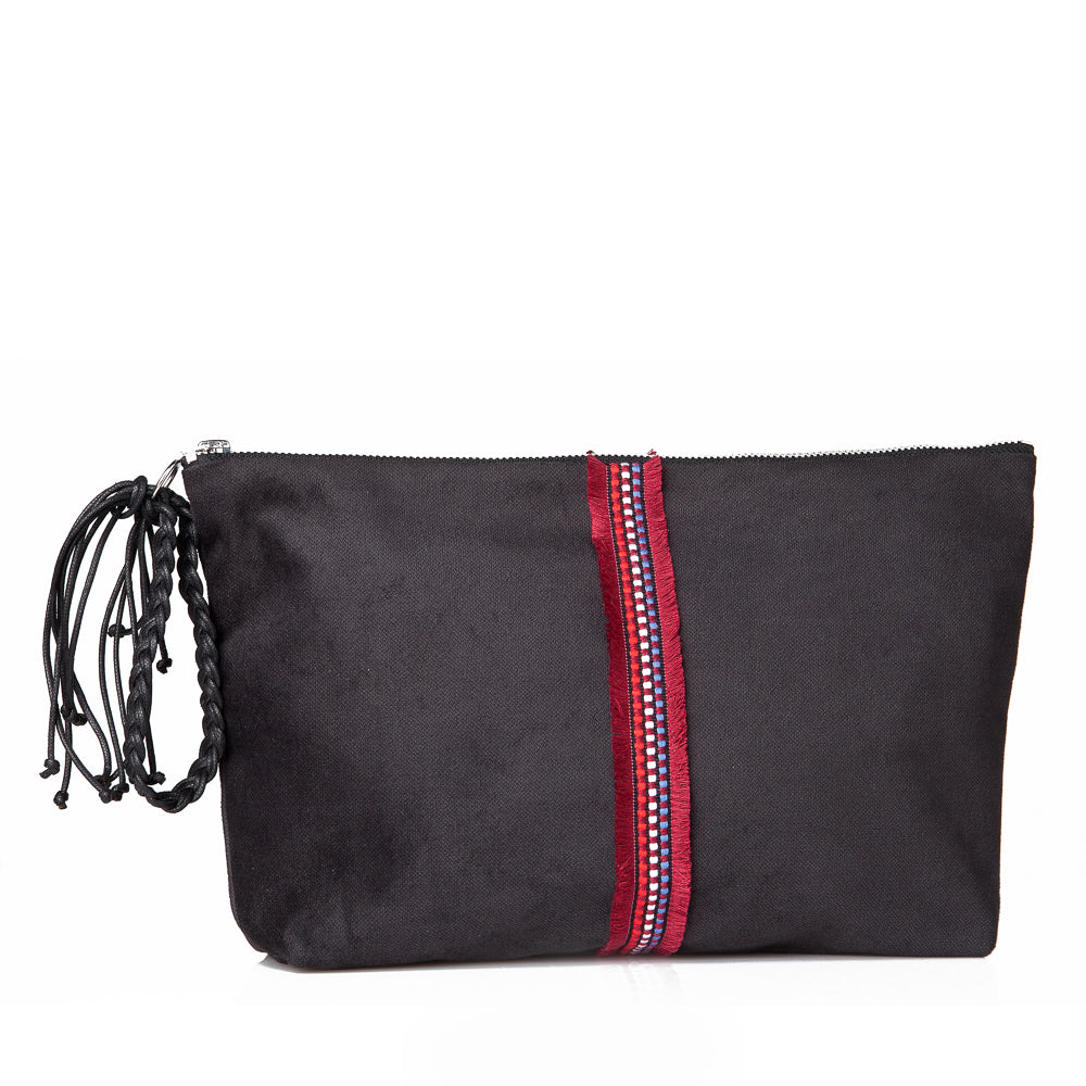 Large Lia pouch - Black