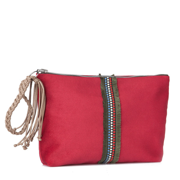 Large Lia pouch -Red