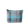 Small tartan pouch - Turquoise