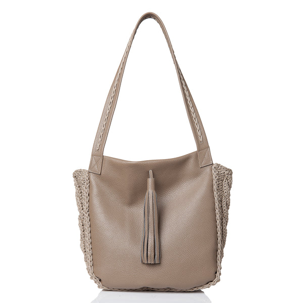 Anais Shoulder Bag - Taupe