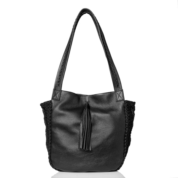Anais Shoulder Bag - Black
