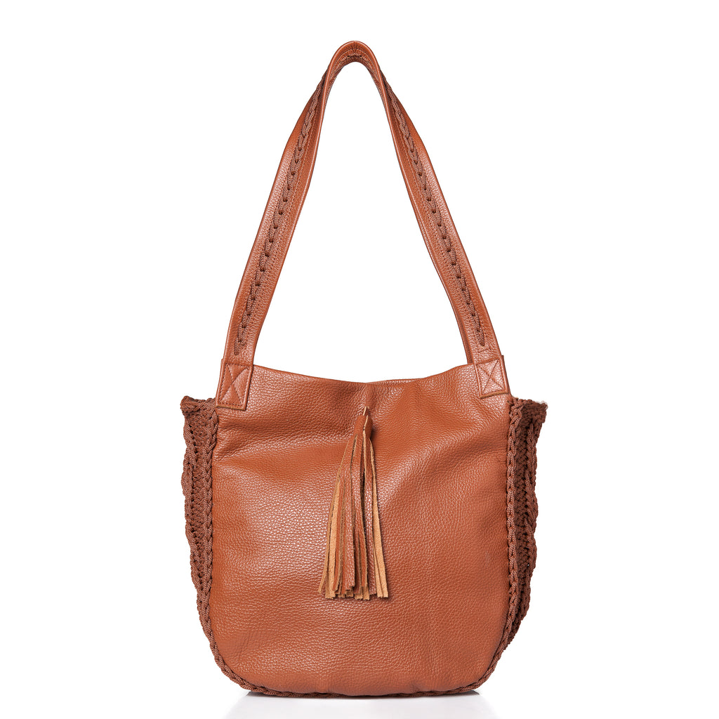 Anais Shoulder Bag - Tabac