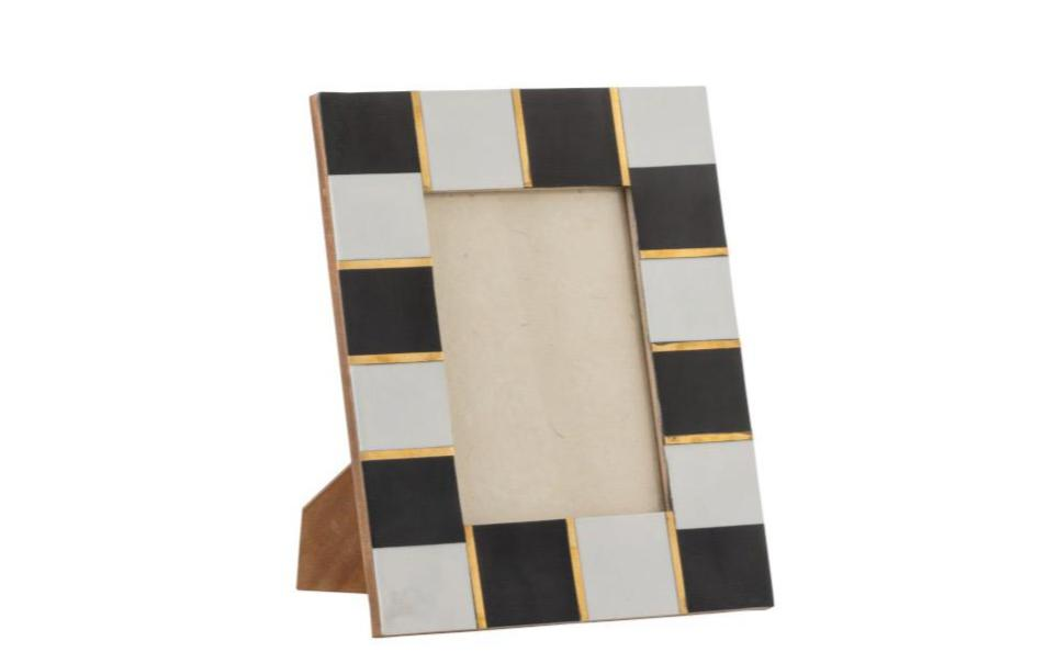 Checkered Wooden Frame
